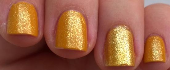 Mustard Shimmer close up