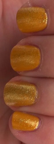 Mustard Shimmer in Shadow