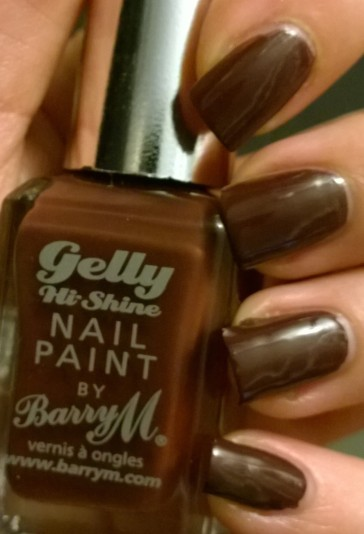 "Just Barry M ""Cocoa"" on its own is gorgeous and definitely lives up to its Hi Shine name"