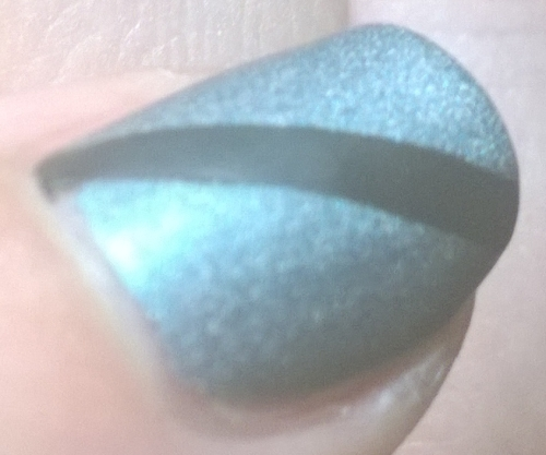 The thumb with matte topcoat - I actually really love the Rossetti's Goddess collection when mattified, possibly more than the normal finish. I can't quite make my mind up.