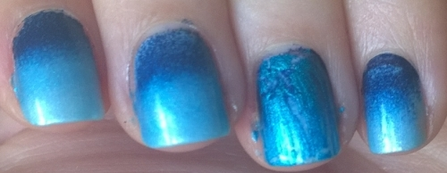 Watery Gradient with crackle