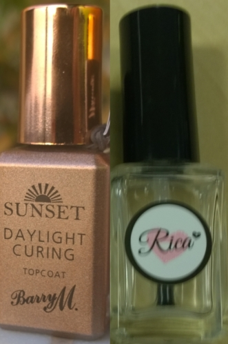 So can Barry M Daylight Curing top coat be used with any polish and how does it compare? Read on to find out.