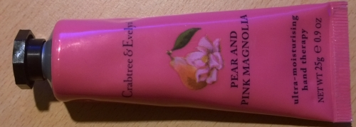 Crabtree & Evelyn hand cream - Pear and Pink Magnolia is a lovely scent