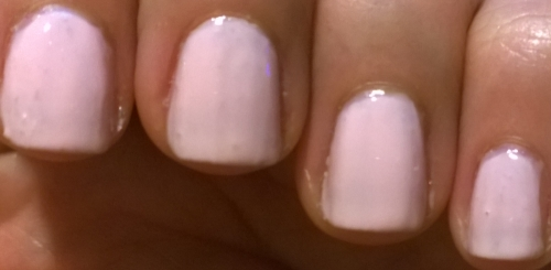 3 coats and it still looks a bit see through to me
