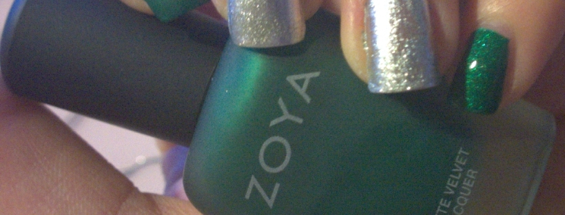 """I can't get over how gorgeous Zoya - """"Honor"""" is or the shine on the Nails Inc polish."""