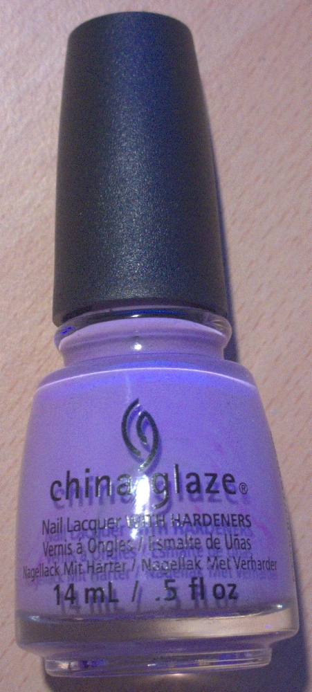 China Glaze Lotus Begin Bottle