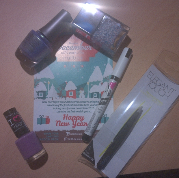 December's Nailbox contents