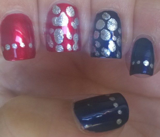 My first attempt at a blobbicure