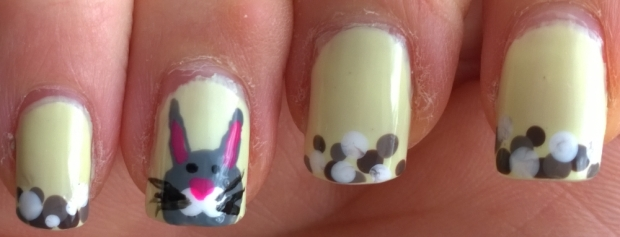 Easter Bunny and nails