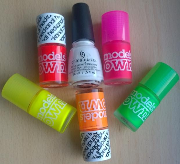 Neon Striples Bottles