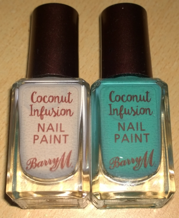 Barry M's new range, Coconut Infusion