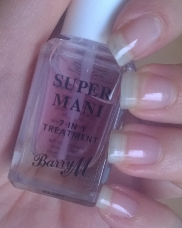 "Barry M ""Super Mani"" 7 in 1 treatment and base coat"