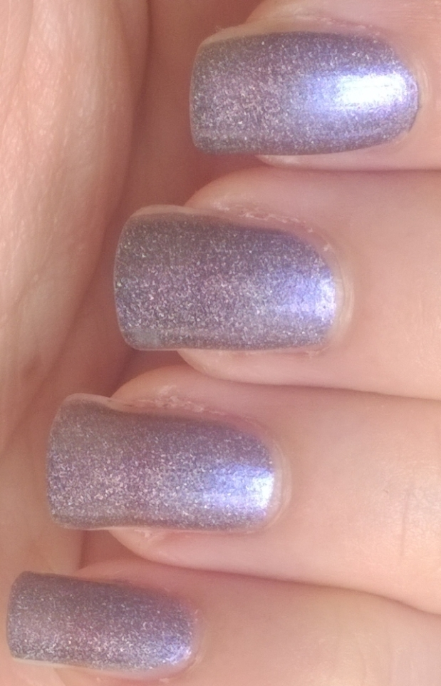 Waltz of the Flowers holographic swatch
