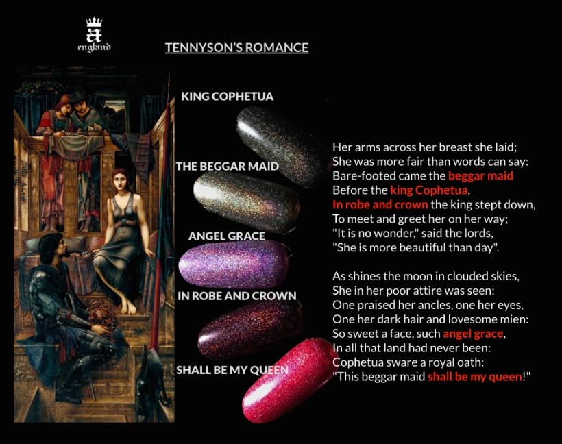 Tennyson's Romance inspiration