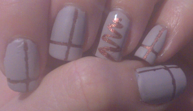 "Nude Christmas! OPI ""Sprung"" and Barry M ""Vanilla"""