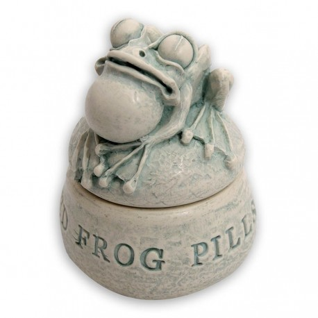 Being a Discworld fan if I end up on warfarin for life I'm definitely getting one of these dried frog pill boxes from the Discworld Emporium!