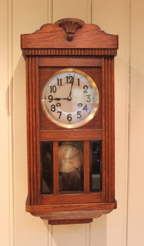 A vaguely similar clock to the one my grandparents had