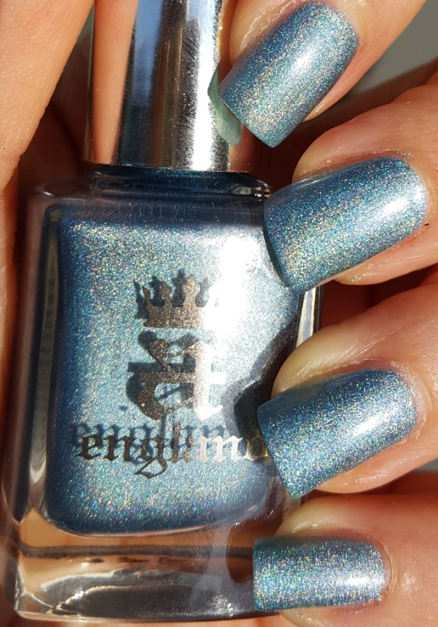 Symphony in Blue and Silver bottle swatch